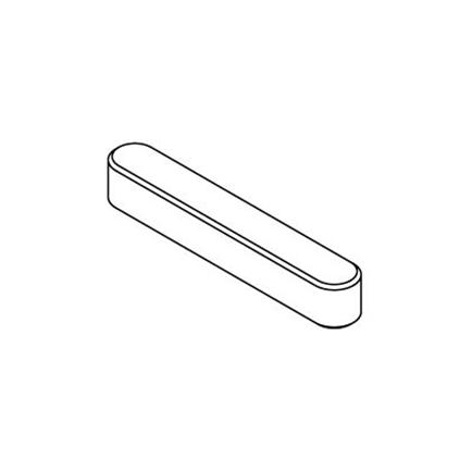 Product picture of the Accessory Metal shaft key 4mm square by 25mm long
