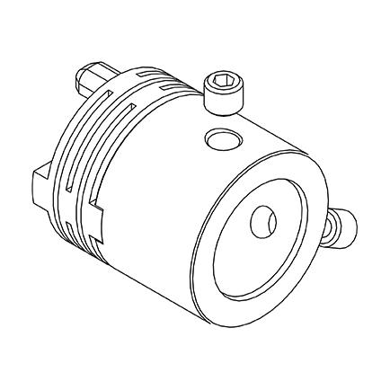 Integrated Coupling for Explosion Proof Image
