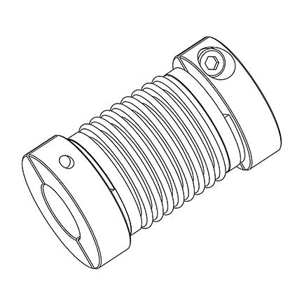 Coupling Secured Bellows Image