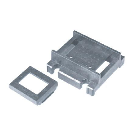 Image of 1 1/4x 1 1/4 pin grid carrier with clip