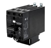 DR67 Series with Fan AC DIN Rail Mount 3-Phase SSR